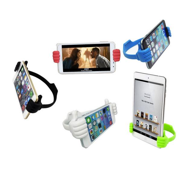 CatWalk New Adjustable Thumb Post Holder Bracket Mount for Mobile Phones Tablet (Green) (Intl)