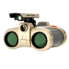 CCC Night Scope 4 x 30mm Binoculars with Pop-Up Light