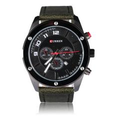 CHEER CURREN 8204 Luxury Watches Men Military Wrist Watches Leather Sports Watch