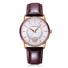 CITOLE OCHSTIN Premium Brand Fashion Waterproof Female Watch Steel Band Quartz Ms. Calendar (White) - Intl