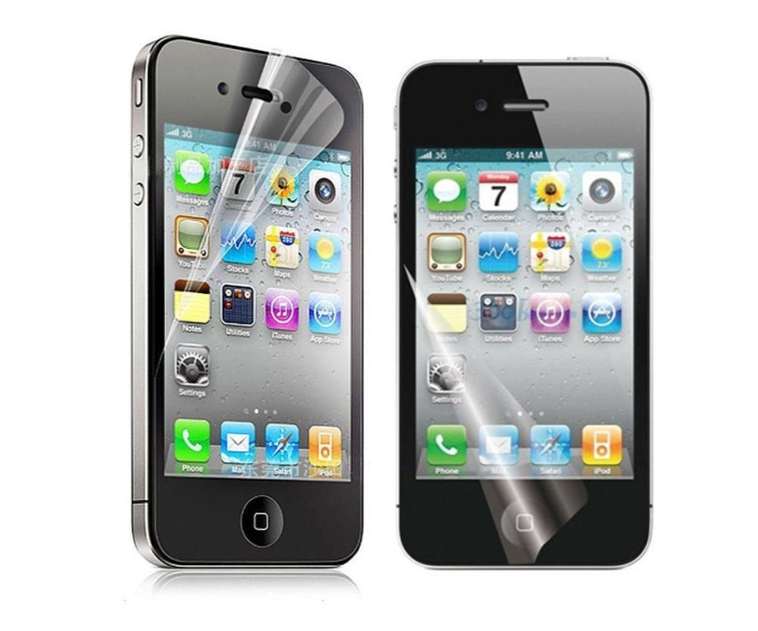 Clear Screen Protector Film for iPhone 4/4s (Clear)