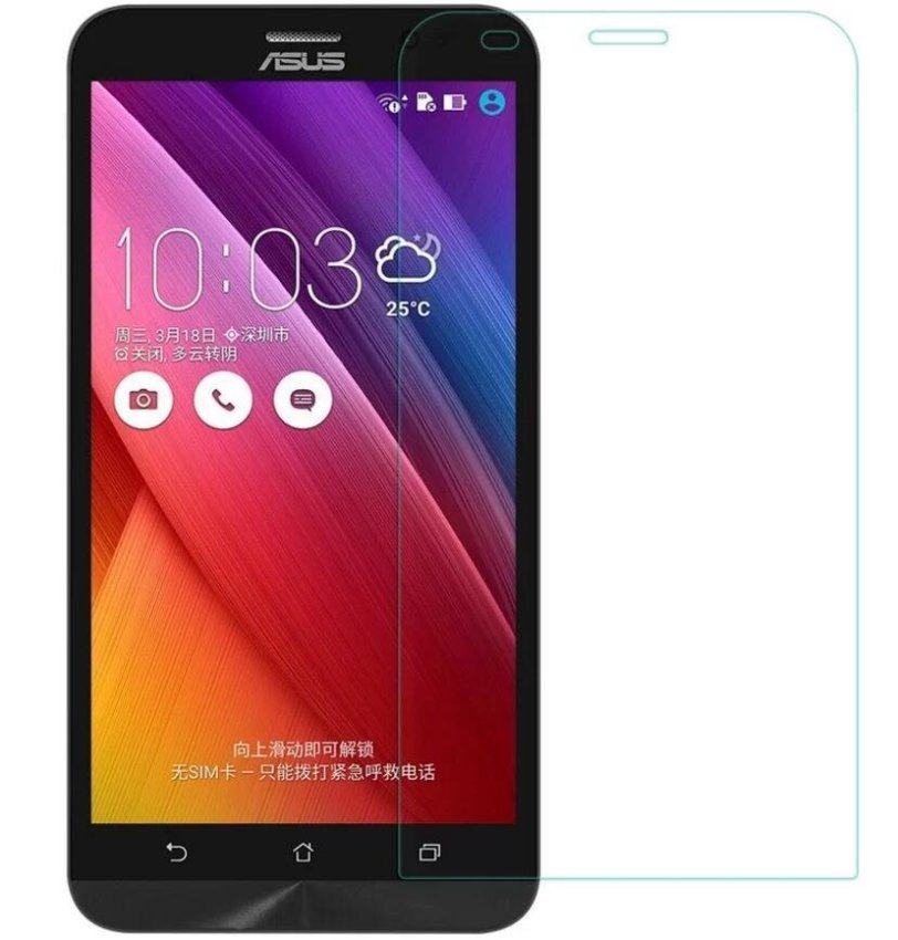 Clear Tempered Glass Screen Protector Film for Asus Zenfone 2 5.0 (Intl)