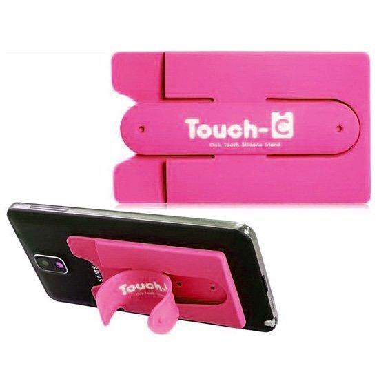 Clip Touch-U Credit Card Shape - Rose