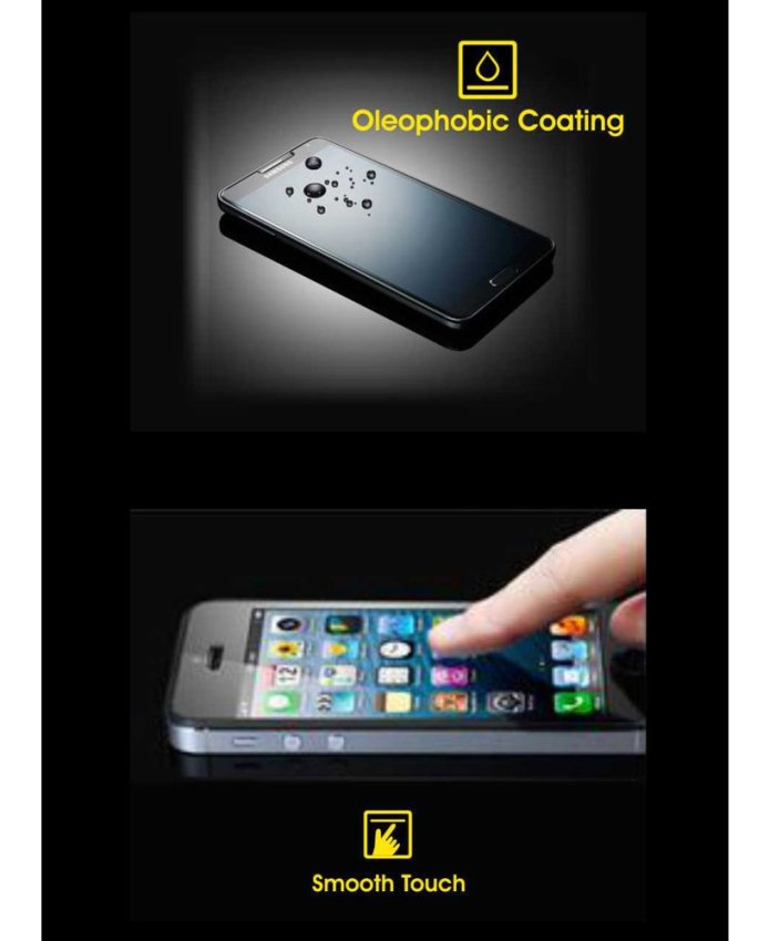 Cognos Glass Tempered Glass Screen Protector for Samsung Galaxy A8