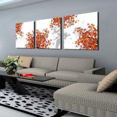 Coocart Art Paintings Frameless Print Canvas PWKH70023342 Set of 3 (Intl)