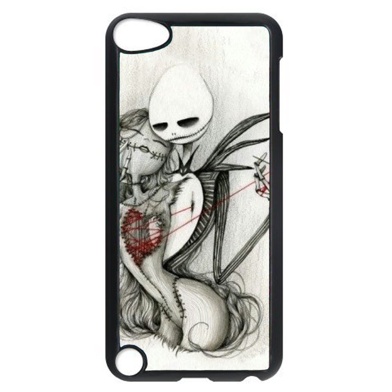 Cool Monster And Beauty Phone Case For Ipod Touch 5 (Black)
