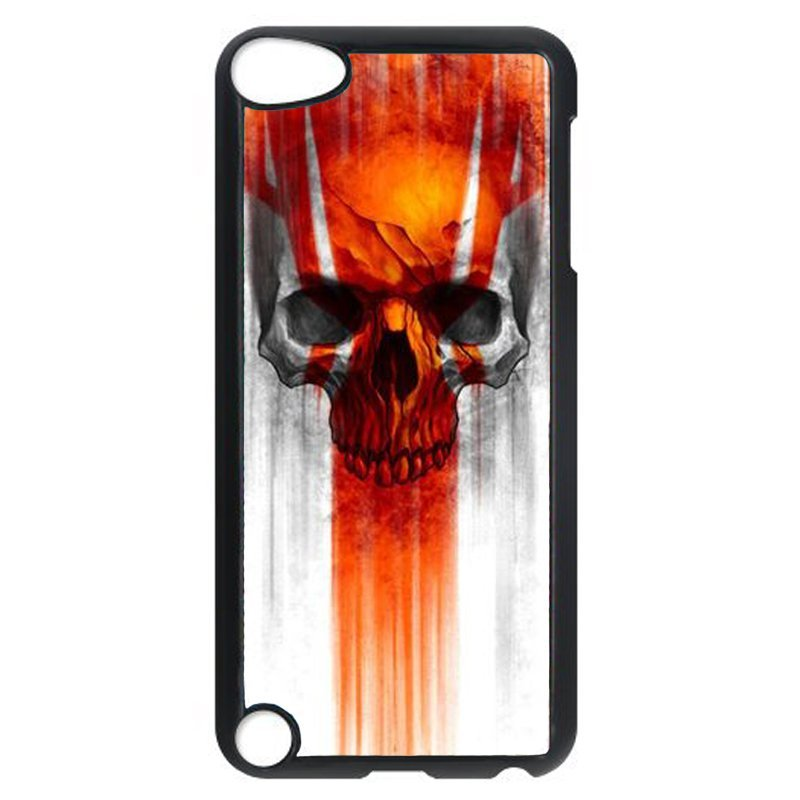 Cool Skull Head Phone Case for iPod Touch 5 (Black)