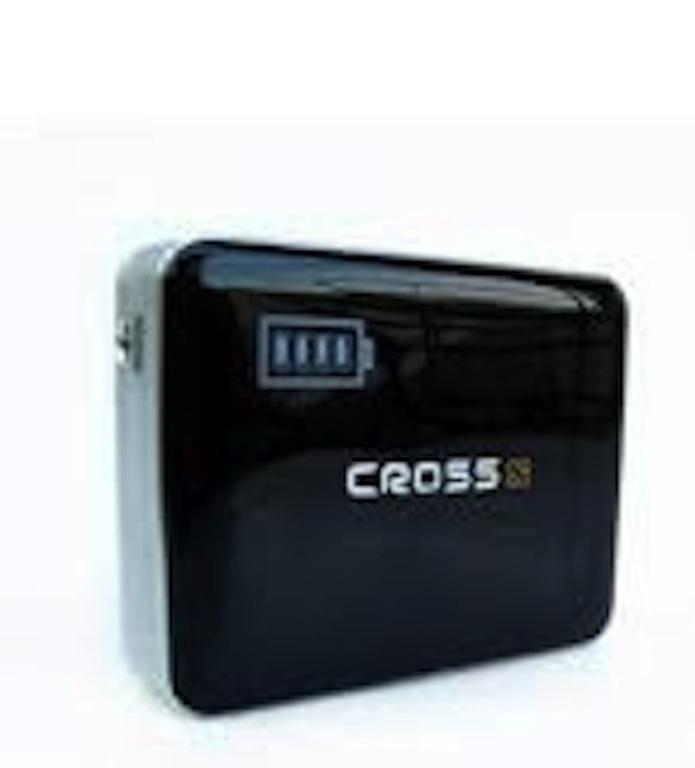 CROSS 5800Mah Powerbank(DUAL OUTPUT) Hitam
