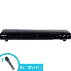 Crystal DVD Player 840 HDMI - Hitam