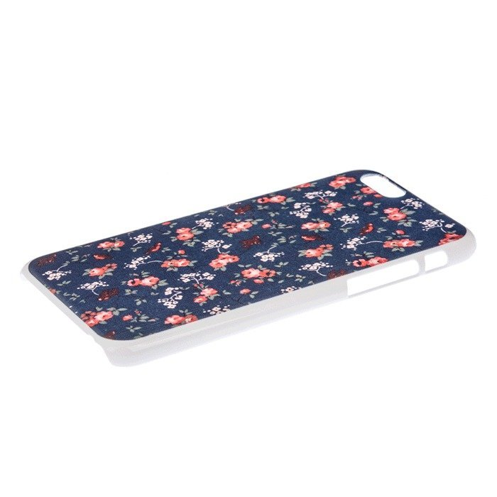 Cute Flower Floral Pattern PC Back Case for Apple iPhone 6 4.7 Inch (Multicolor) (Intl)