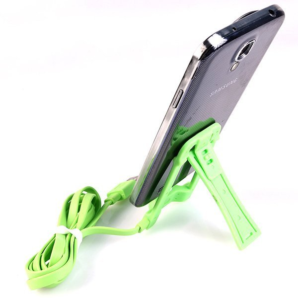 Data cable phone holder (Intl)