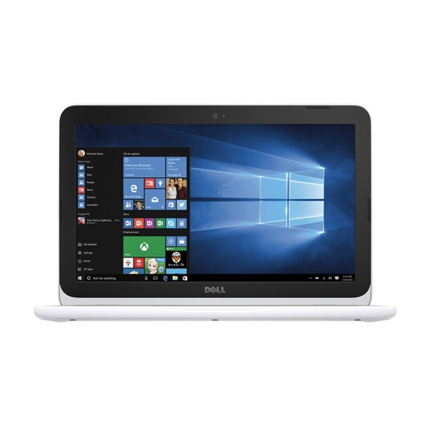 "Dell Inspiron 3162 - 11.6"" - 2GB RAM - Celeron N3050 - Windows 10 SL - Putih"