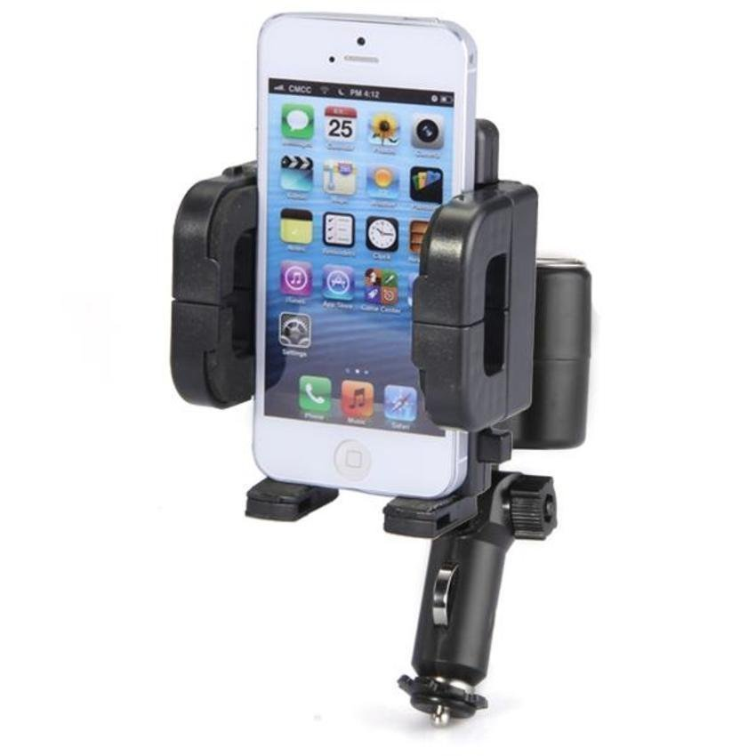 DHS Car Lighter USB Holder Cradle Mount Charger for Mobile Phone GPS (Intl)