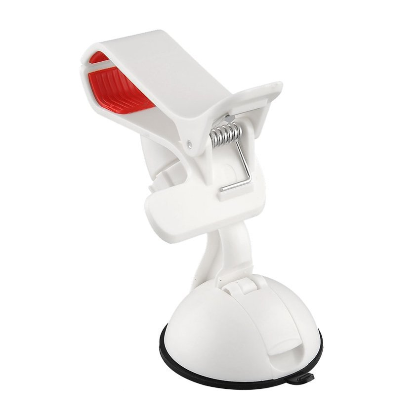 DHS Car Windshield Mount Holder For iPhone 5 6 (White) (Intl)