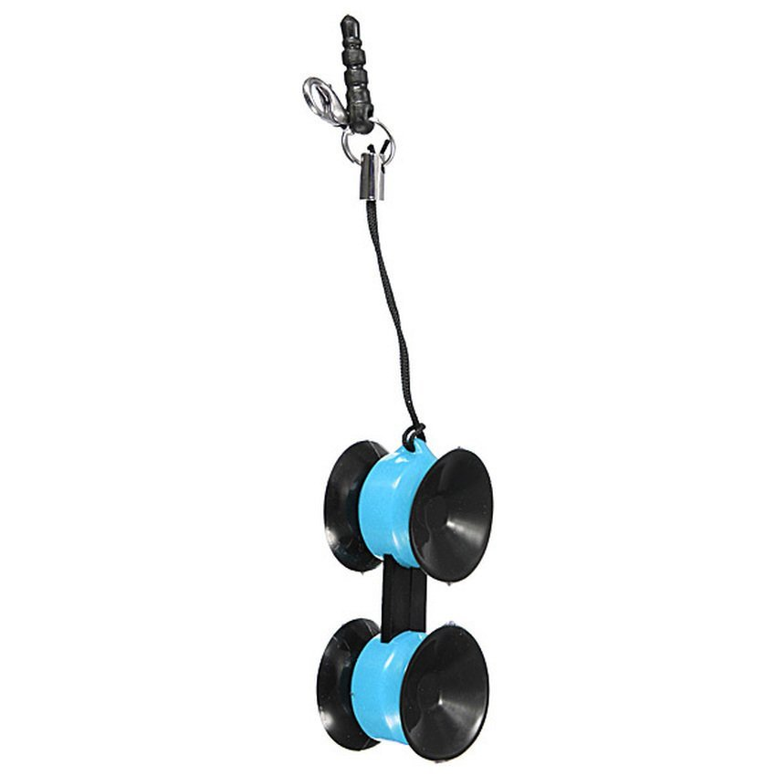 DHS Mini Car Cell Phone Mobile Mount Holder Air Vent Stand for iPhone iPod GPS MP4 (Blue) (Intl)
