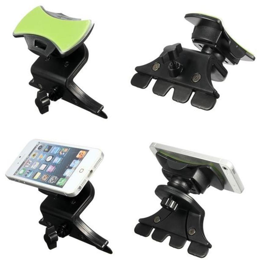 DHS Universal Car CD Slot Mount Holder Stand for Smartphone (Intl)