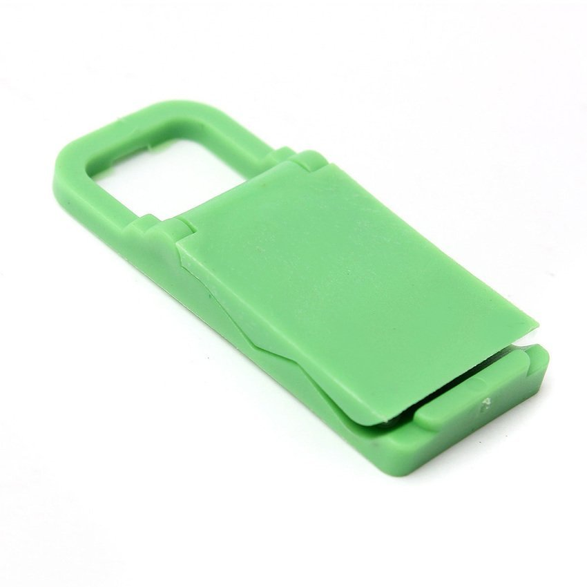 DHS Universal Foldable Mini Cell Phone Stand Holder for iPhone Galaxy HTC Huawei Green (Intl)