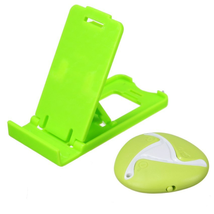 DHS Universal Wireless Remote Self-timer Camera Shutter Holder for Smart Phone Mini Green (Intl)