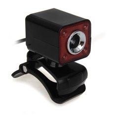 DHS USB 2.0 5.0MP 4 LED HD Webcam Web Cam Camera MIC For Laptop Computer (Intl)