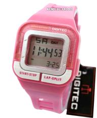 Digitec - DG30261L - Jam Tangan Wanita - Karet - Pink
