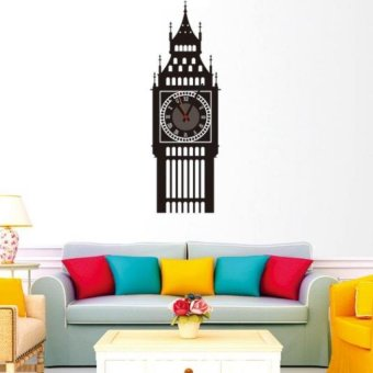 diy self adhesive interior wall creative decoration clock