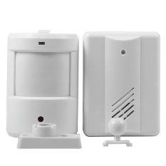Door Bell Alarm Chime Doorbell Wireless Infrared Monitor Sensor Detector Welcome Entry Bell (Intl)