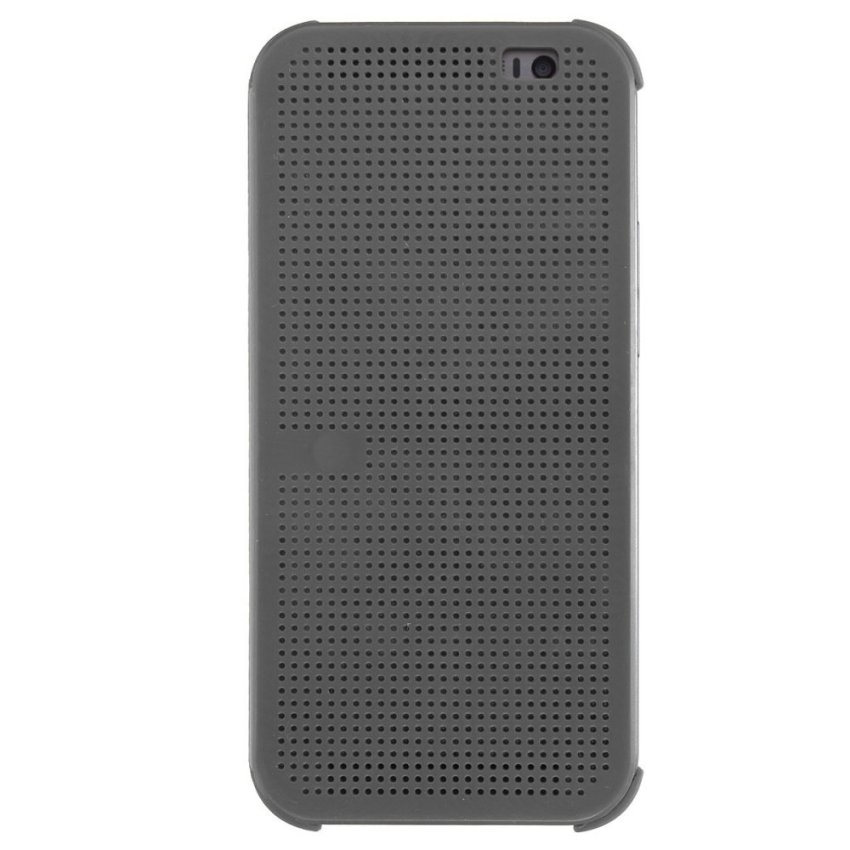 Dot View Flip Cover for HTC One M8 (Grey) (Intl)