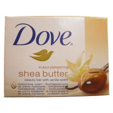 Dove Soap Bar / Sabun Batang Shea Butter With Vanila Scent - 100 gr