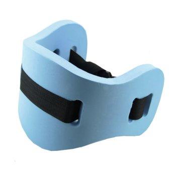 Drift Swim Exercise Training Equipment Water Flotation Belt Waistband Back Float Foam Blue