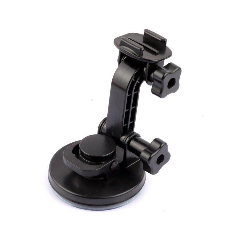 DSH New arrive  4-mobile phone  Suction Cup Car Mount Holder Set for GoPro Hero 4 / 3+ / 3 (Black) (Intl)
