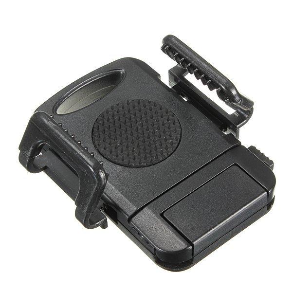 Dual USB Car Cigarette Lighter Mount Holder Adjustable Rotation for Smart Phone (Intl)
