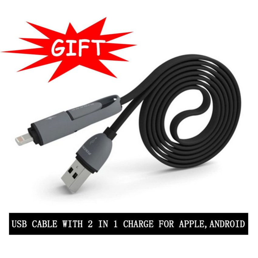 Dual USB Ports Car Charger Adapter (Black)(INTL)