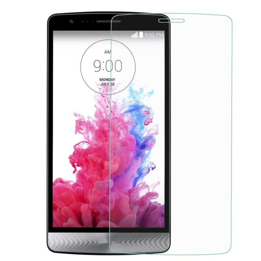 Dulisimai Protective Tempered Glass Screen Protector for LG G3 Mini - (Transparent) (Intl)