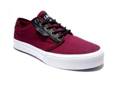 Eagle Homer Sepatu Sneaker - Maroon Black