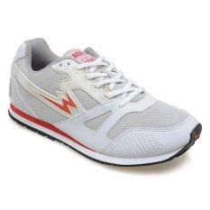 Eagle Spectrum Sepatu Running - Putih-Abu-abu