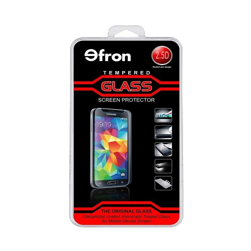 Efron Glass Oppo R1 / R829 - Premium Tempered Glass - Rounded Edge 2.5D