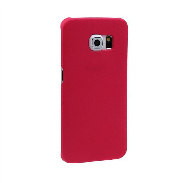 Elegant Compact Hard Cover Protective Case For Samsung Galaxy S6 Edge Red
