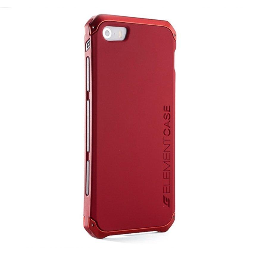 Element Case Solace for Iphone SE / 5S / 5 - Merah-Merah