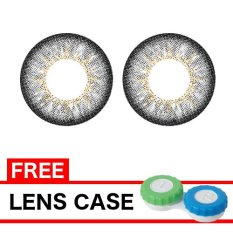 EOS Luna - Black Softlens - 14.50mm + Gratis Lenscase