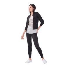 Esprit T-Shirt With A Shiny Print, 100% Cotton - Light Grey