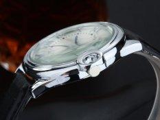 ETOP Men's Classic Fashion Business Quartz Watch Han Edition Rome Graduated Dial Not Waterproof Leisure Table (BLACK) (Intl)