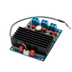 Fang Fang 2x50W Digital AMP Amplifier Board With Radiator TDA7492 D Class High-Power (Blue) - Intl