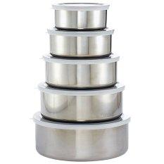 Fantasy 5 In 1-Stainless Steel Food Storage & Savers