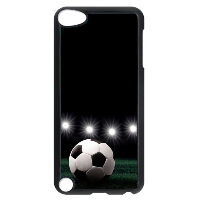 Fashion Soccer Pattern Phone Case for iPod Touch 5 (Black)
