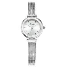 Fehiba KIMIO Fashion Trend Hot Fashion Watch Casual Watch Quartz Watch Fashion Female Form Female Models 6110 (White)