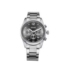 Fehiba MEGIR Men's Waterproof Watch Quartz Watch Big Dial Luminous Fashion Sports Watch 2010 (Black)