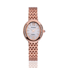 Fehiba Sousou New Shelves Exquisite Fashion Alloy Watches, Wholesale Ladies Watches Disk Manufacturers Supply (Rose Gold)