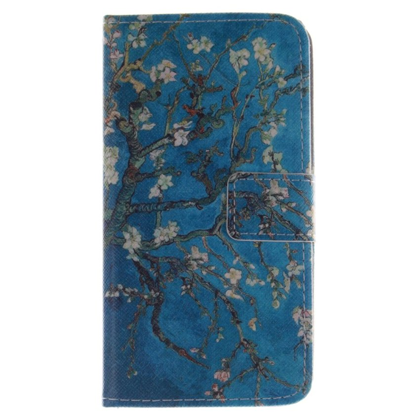 Filp Leather Cover for Wiko (Blue) (Intl)
