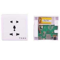 FIST Mini 2.4G Wireless HD Spy Camera Power Socket Outlet Hidden Motion Detection DVR