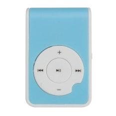 Five Star Store Mirror Clip USB Digital Mp3 Music Player Maximum Support 8GB TF